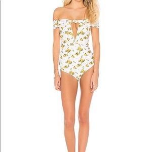 NWT For Love and Lemons limonada swim suit 1 piece